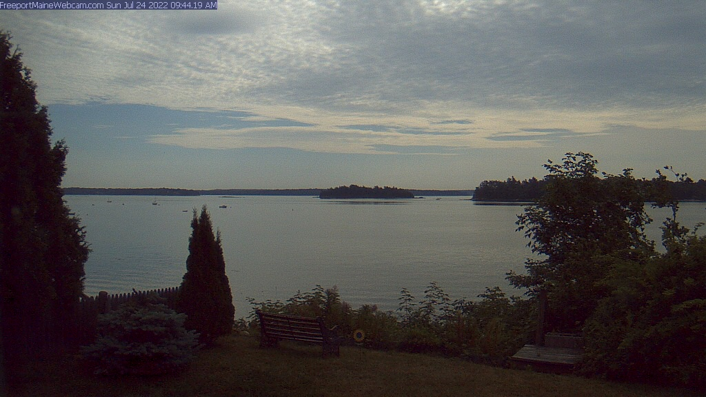 Coastal Maine Waterfront Camera