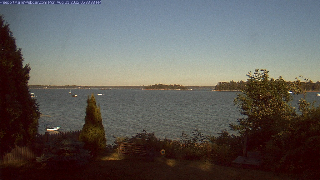 Freeport Maine Sea Webcam