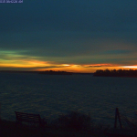 Freeport Maine picture of winter solstice sunrise